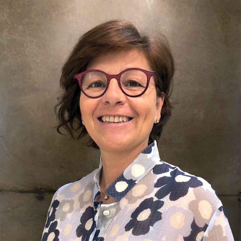 Paola Manganini titolare negozio moda Manganini abbigliamento Milano